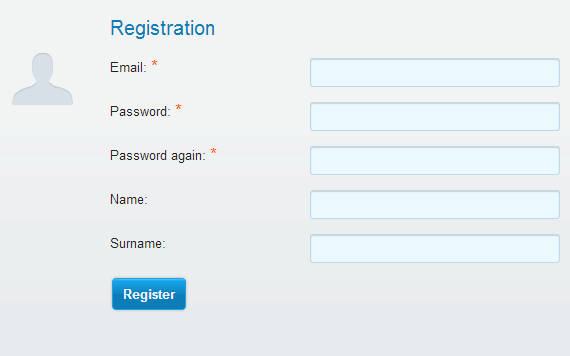How do you add a signup form to your website? - User registration options