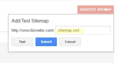 Test Add sitemap