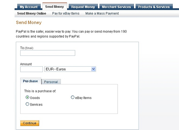 Money back PayPal bizwebs.com